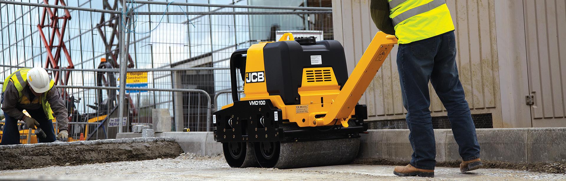 Compaction Equipments Saudi Arabia, JCB Dealer - Abunayyan JCB